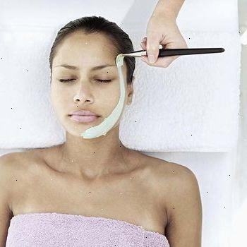 blekningsmedel för ansiktshår