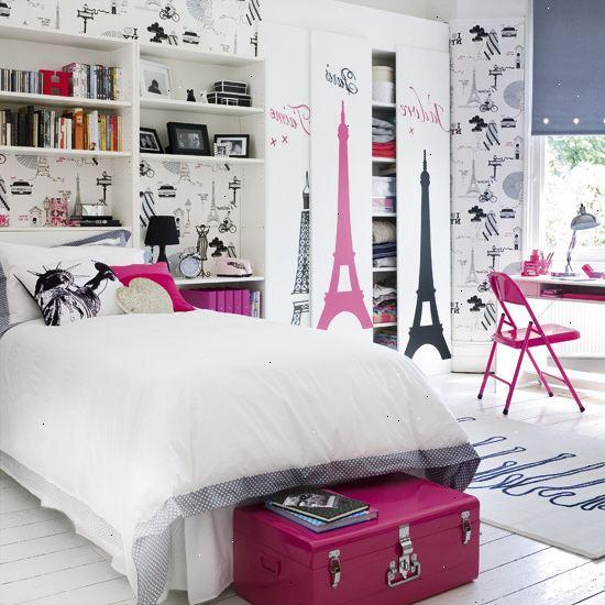 Hur man skapar en paris chic ton ring sovrum wka - Tiener slaapkamer ideeen ...