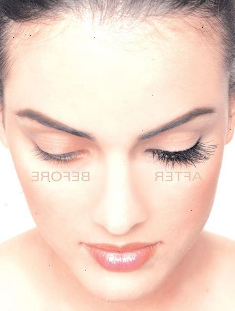 vaselin ögonfransar före efter