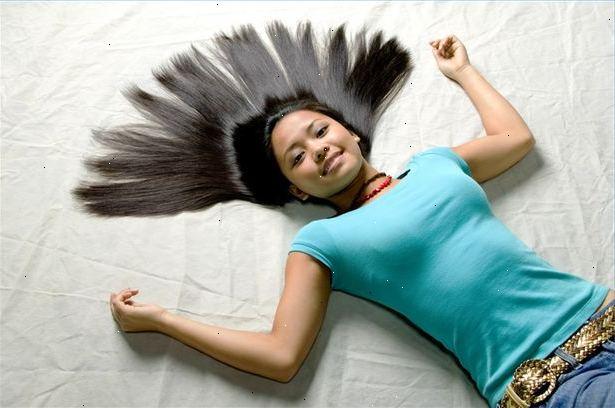 hur får man platt hår