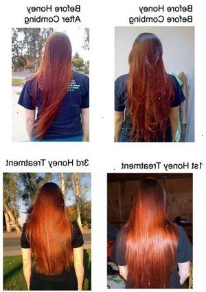 blondera håret naturligt